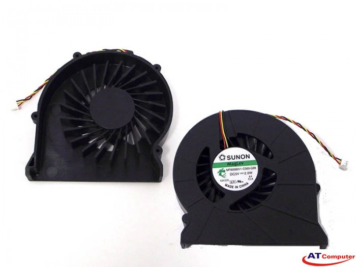 FAN CPU MSI CX420, CX500, CX600, CX620, GX400, CR400, CR420, CR600, EX460, EX620. Part: MF60100V1-Q020-G99