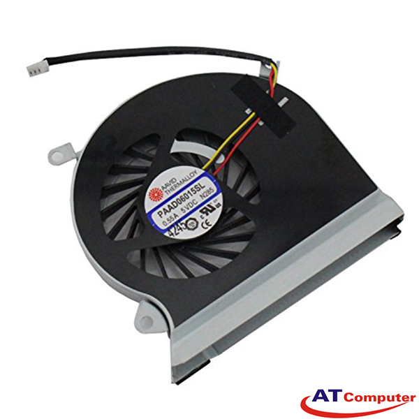 FAN CPU MSI GP60, GP60 2PE, GP60 2PL, GP60 2PF, GP60 2QE, GP60 2QF. Part: PAAD06015SL A166, PAAD06015SL
