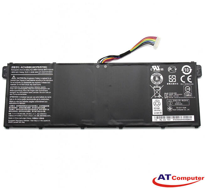 Pin Acer Aspire 7 A715-72G, A717-72G, 4Cell, Oem, Part: AC14B8K