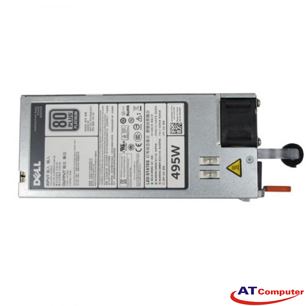 DELL 495W Power Supply, For DELL PowerEdge R530, R630, R730, T430, T630. Part: GRTNK, 0GRTNK