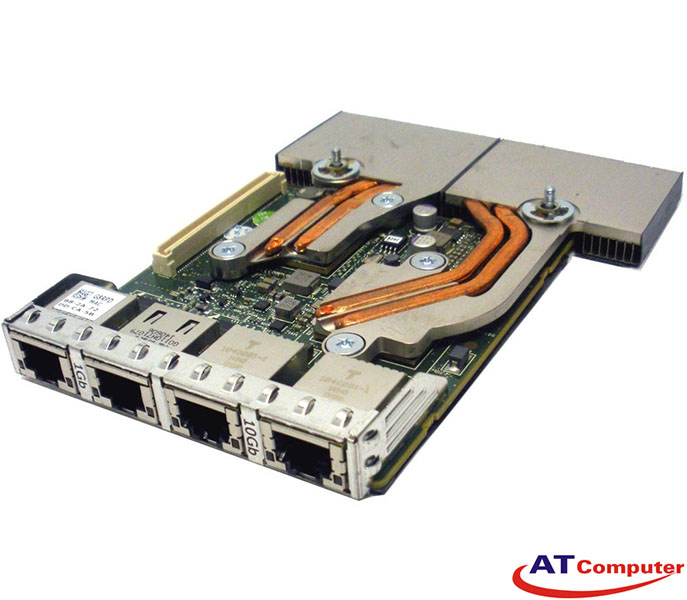 Dell Broadcom 57800-T 10Gb RJ-45 Quad Port RNDC. Part: G8RPD, 0G8RPD