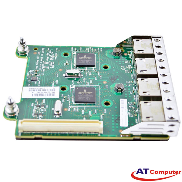 Dell Broadcom 5720-T 1Gb Ethernet Quad Port RNDC. Part: FM487, 0FM487