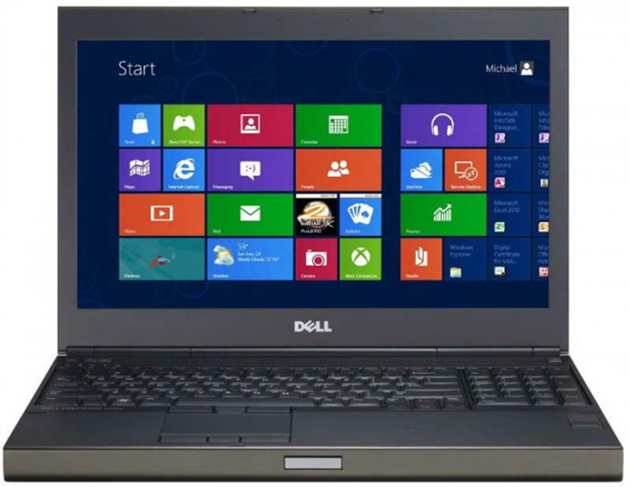 Dell Precision M4800 i7-4900MQ, 8GB, SD240GB, 15.6 FHD, VGA Quadro K2100 2GB