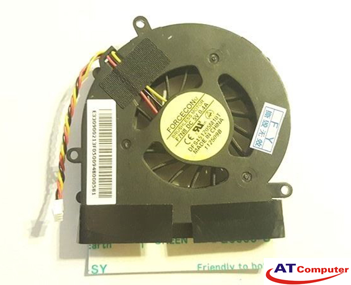 FAN CPU MSI EX300, PR320 Series. Part: DFS451205M10T, F7E7