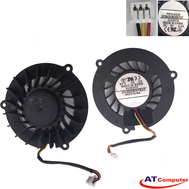 FAN CPU MSI VR600, VX600X Series. Part: DFB450805M10T, F675-CCW