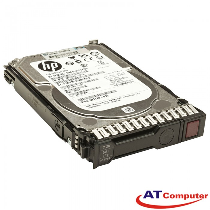 HP 1TB SAS 7.2K 6Gbps SFF DP 2.5. Part: 605835-B21