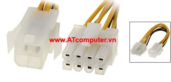 Power Cable EATX 12V 4 pin to8 pin, Part: D12041-001