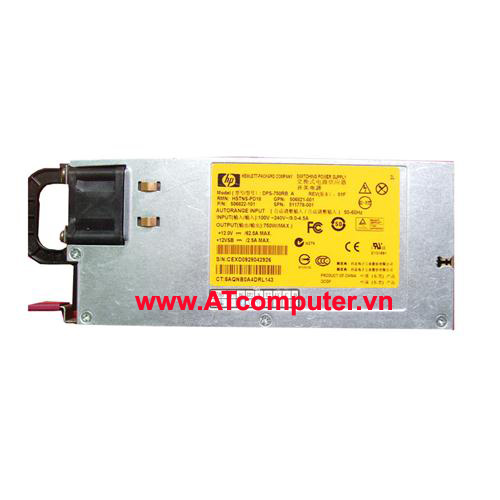 HP 1200W Power Supply Hot plug, For HP Proliant DL170, DL360, DL370, DL380, DL 385 G6, G7, ML350, ML370 G6, Part: 498152-001, 438203-001, 490594-001