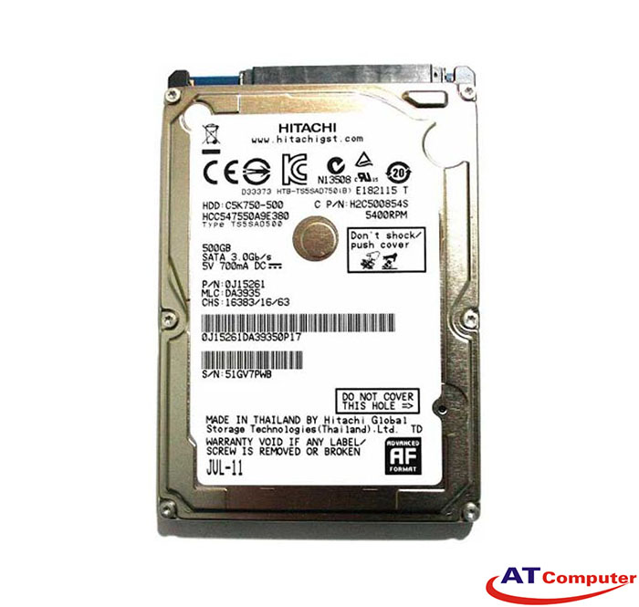 HDD HITACHI 1TB SATA 5400rpm, 8Mb cache 2.5''