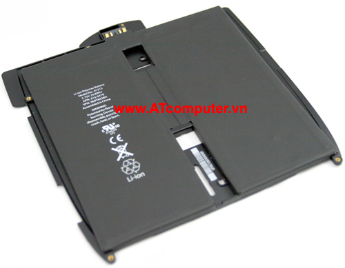 PIN iPAD A1315, iPad A1337, iPad A1219. 6Cell, Original, Part: 616-0478, 969TA028H, 616-0448