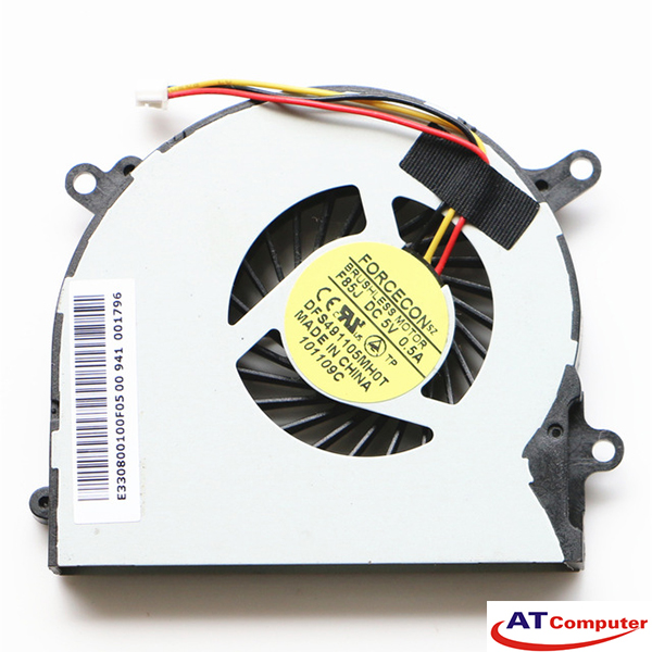 FAN CPU MSI X600 Series. Part: AB6505HX-J03(CWC45X), DFS491105MH0T(F85J), E33-0800100-F05