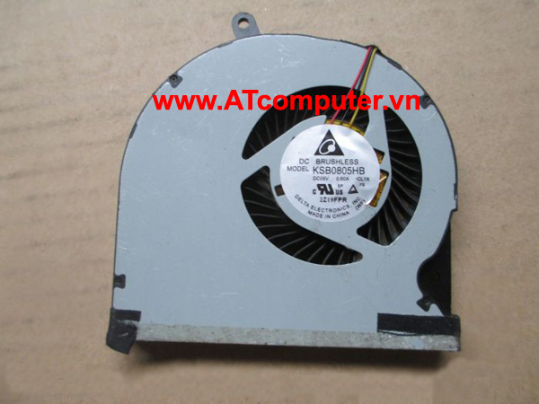 FAN CPU TOSHIBA Tecra R850 Series. Part: KSB0805HB(-CL1X), KSB0805HB(-CL2C)