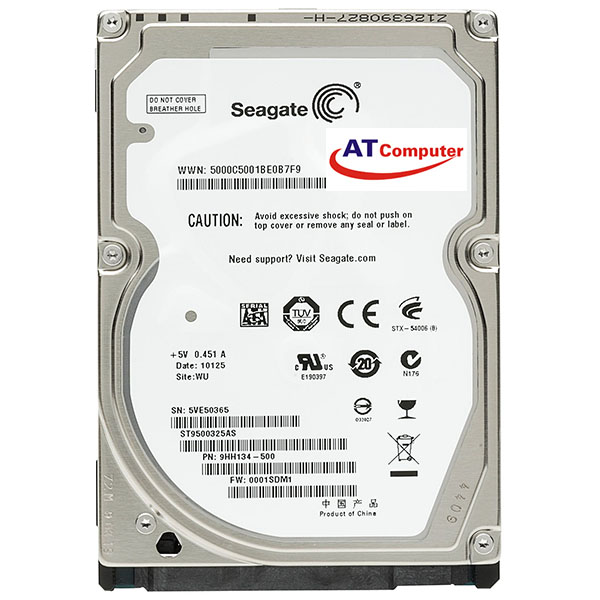 HDD SEAGATE 500GB SATA 5400RPM, 8Mb Cache 2.5''