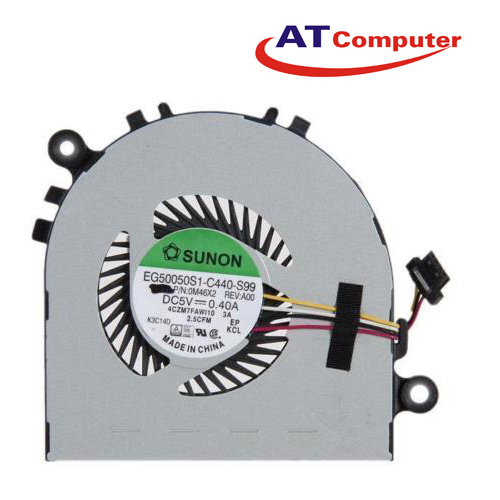 FAN CPU DELL Chromebook 11. Part: EG50050S1-C440-S99, M46X2, 0M46X2